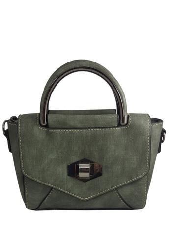 TCWK green TCWK Korea Style Women Fashion Sling Bag E92EEAC2F2817AGS_1