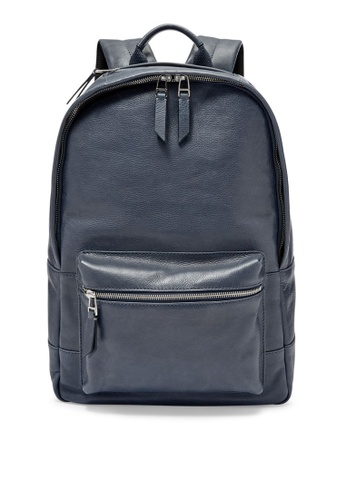 Fossil blue and navy Fossil Backpack MBG9275400 BB339AC5654E73GS_1