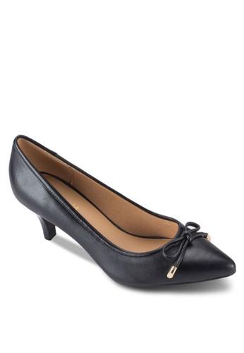 Anastacia zalora taiwan 時尚購物網蝴蝶結尖頭高跟鞋, 女鞋, 鞋