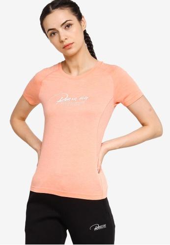 361° pink Running Series Short Sleeve T-shirt 03113AADAD7212GS_1
