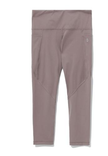 izzue pink Side pocket leggings 3AB6FAA1E691B1GS_1