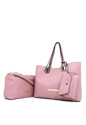Carlo Rino Pink 0302999 002 34 Tote Bag F0ebcaca0a602egs 1