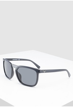 b45f2dc63e01 Emporio Armani black Emporio Armani EA4123F Sunglasses E5C4BGLFC6FAF4GS 1