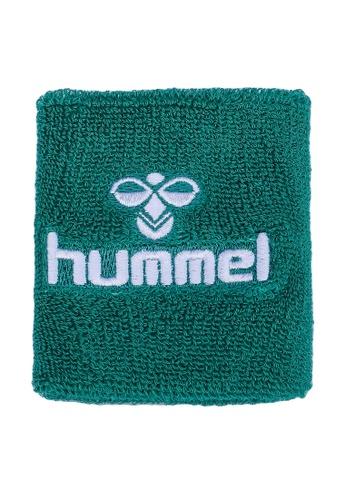 Hummel green Old School Small Wristband 63148AC0E8E41DGS_1