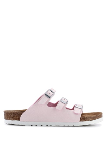 815314f0802 Birkenstock pink Florida Fresh Sunkissed Sandals 26865SHCAB20E6GS 1