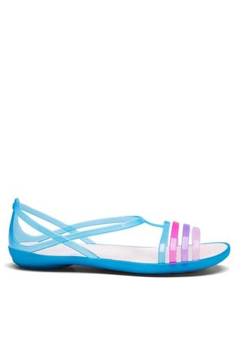 Twenty Eight Shoes 藍色 搭帶果凍雨鞋及沙灘涼鞋 VR1808 96AD9SH484AD81GS_1