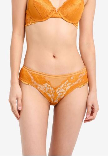 Cotton On Body gold Frankie Frill Bikini Panties CO561US0SIIYMY_1