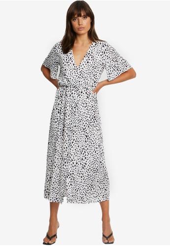 Tussah white Adria Midi Dress 471D6AAB7BF846GS_1