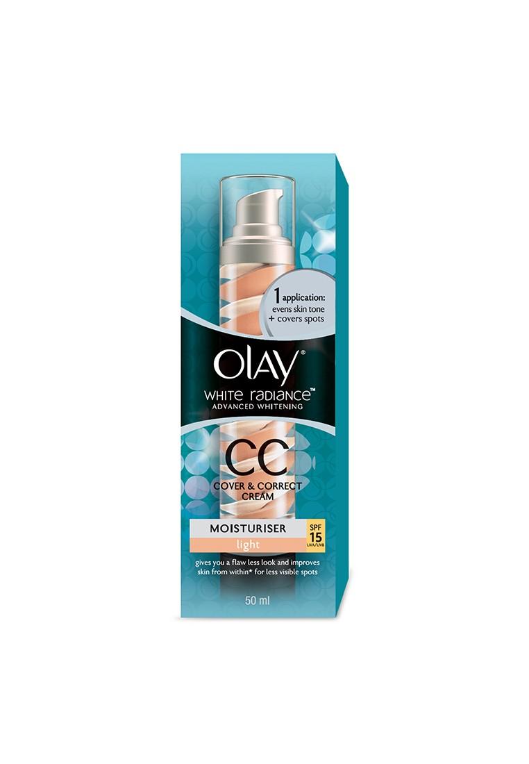 White Radiance CC Cover & Correct Cream light SPF 15 UVA/UVB 50ml