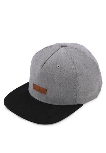 Billabong grey Oxford Snapback Cap BI783AC0SXHKMY_1