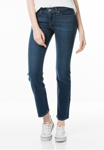 Levi's blue 714 Straight Jeans LE843AA05ZVMSG_1