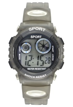 Sport Unisex Digital PVC Strap Watch K1409