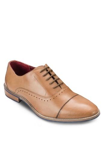 沖孔esprit台灣網頁牛津皮鞋, 鞋, 鞋