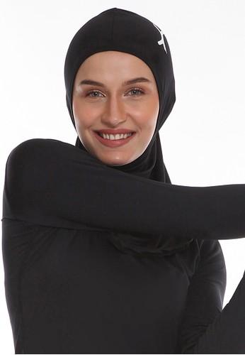 Flexzone black Flexzone Hijab Sport Instant Black 0B64FAC26DF127GS_1