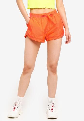 Factorie orange Generic Shell Shorts 01B94AAF622094GS_1