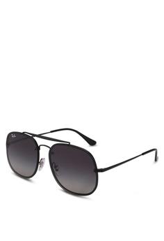 b1a616b6e1 Ray-Ban black RB3583N Sunglasses 4D9FCGL5F5CEACGS 1