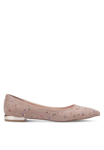 Nose beige Colorful Stone Flats NO327SH0RVLUMY_1
