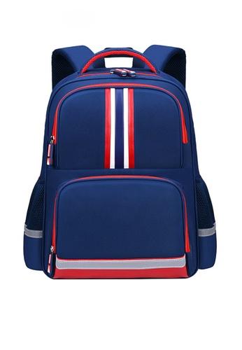 Twenty Eight Shoes navy VANSA Nylon Backpacks VAK-Bp2058 7749BKC4F2D9B8GS_1