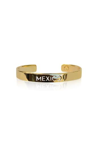 Cristina Ramella gold Mexico Bangle CR504AC74JDTHK_1