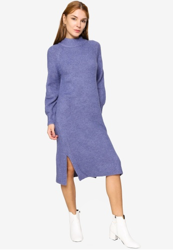 GLOBAL WORK blue Casual Woven One Piece Dress B2936AA085EFC2GS_1