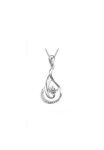 Elfi silver Genuine 925 Silver Necklace SP20 EL186AC10KFHMY_1