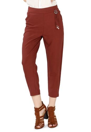 London Rag brown Rust Regular fit Trousers 6E32DAAEDC11E6GS_1