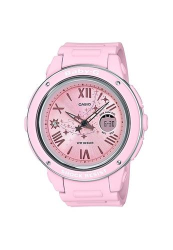 Baby-G pink CASIO BABY-G BGA-150ST-4A 17B83AC9720140GS_1