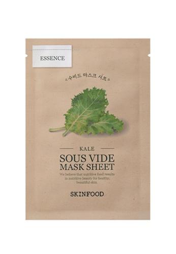 SkinFood SKINFOOD 慢煮蔬果面膜 [Kale 羽衣甘藍] 10片裝 Sous Vide Mask Sheet (Kale) 10pcs EF135BED822A8BGS_1