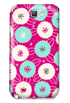 Cotton Flower All Glossy Hard Case for Samsung Galaxy Note 2
