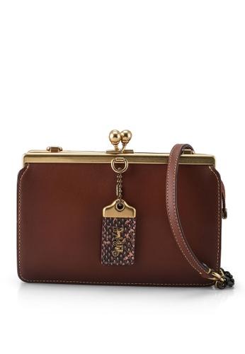 Coach brown Double Frame Bag 19 (cv) 662E5AC55D2E96GS_1