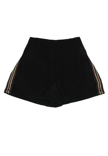 FOX Kids & Baby black Side Stripe Detail Shorts 9212FKA7730562GS_1