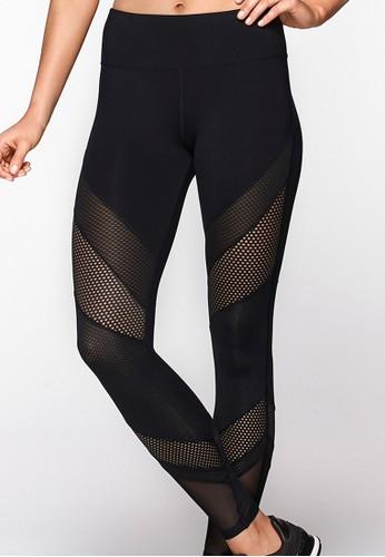Shimmer 網esprit 衣服眼拼接全場運動褲, 服飾, 長褲及內搭褲