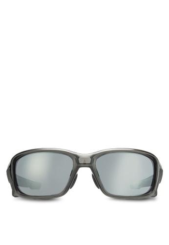 Oakley grey Active Performance OO9336 Sunglasses OA636GL73IXEMY_1