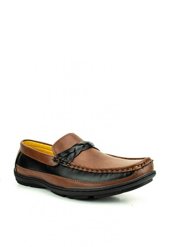 Mario D' boro Runway brown Byron Loafers 42444SH4A46D67GS_1