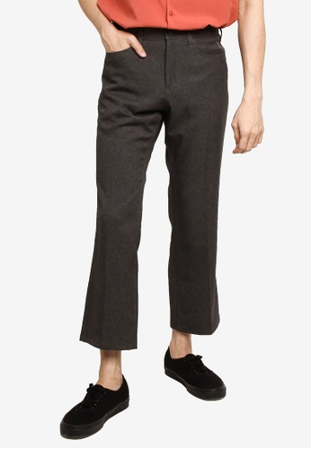 GLOBAL WORK grey Casual Woven Pants CEA3BAAF998D7AGS_1