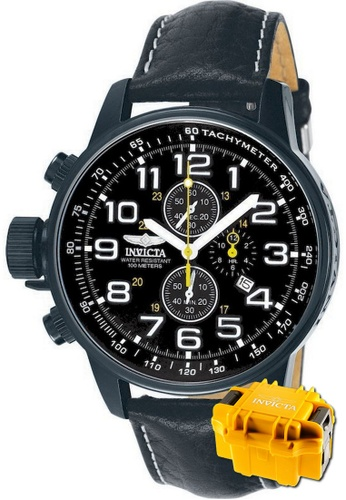 INVICTA black Invicta I-Force Men Chronograph 46mm Quartz Military Field Watch 3332 w/ Impact Case F1849AC738A75BGS_1