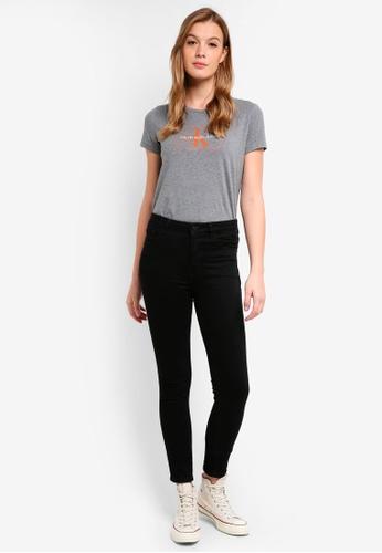 Calvin Klein grey A-Outline Monogram - Calvin Klein Jeans 83962AA1DC7B8AGS_1
