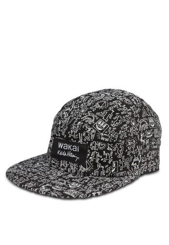 LIzalora 衣服尺寸NES 印花鴨舌帽, 飾品配件, 鴨舌帽