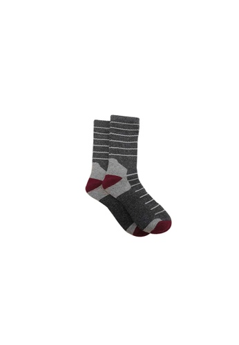 Universal Traveller grey Universal Traveller Unisex Wool Tech Socks - SKW 9248 783B2AAA228662GS_1