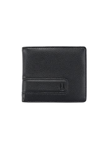 Nixon black Showdown Bi-Fold Zip - All Black NI855AC55ZDOSG_1