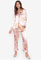 FEMINISM pink Longsleeve PJ Set B229DAAEC5892DGS_1