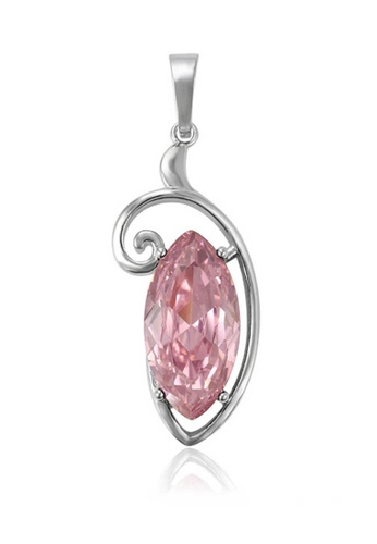 midzone pink Youth's Kate Shinny Crystal Symbol Pendant FA713ACC81DEA7GS_1