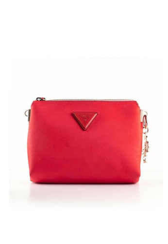 Buy Guess Jade Top Zip Crossbody Sling Bag Online on ZALORA Singapore