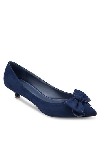 蝴蝶結尖頭低跟鞋, 女鞋, 厚esprit hk底高跟鞋