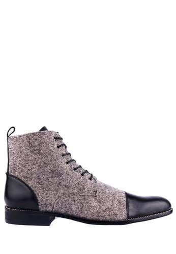 Ftale Footwear grey Fabrizio-Grey FT118SH32EPVID_1