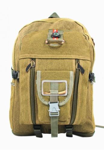 Urban Hikers brown Levy Outdoor Sport Backpack Hiking Trekking Bag UR461AC38VWNPH_1