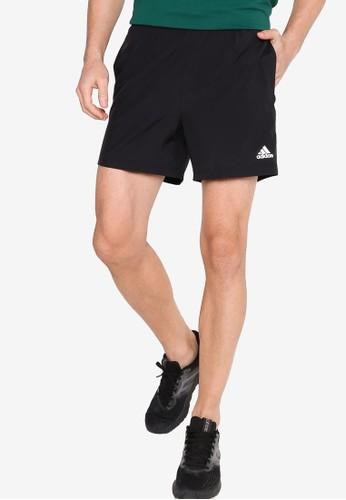 ADIDAS black run it shorts pb 3 stripes men 441DEAA3AC4E58GS_1