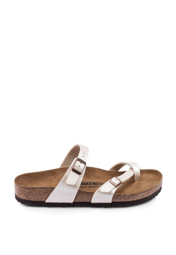 Birkenstock white Mayari Graceful Sandals 59F1ASH0BAACEBGS_1