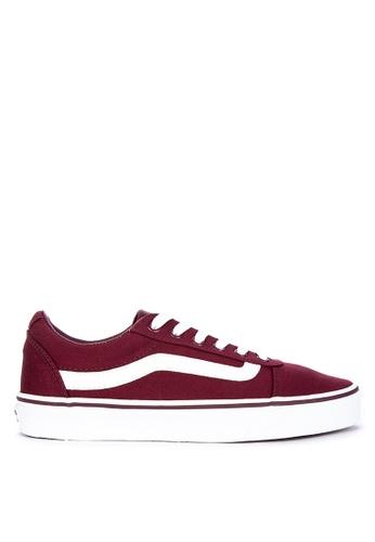 Shop VANS Canvas Ward Sneakers Online on ZALORA Philippines 4618fff81