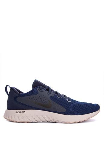 Nike blue Nike Legend React Shoes 95A69SH6E509CAGS_1